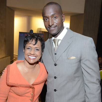 Judge Hatchett and Keynote Randal Pinkett