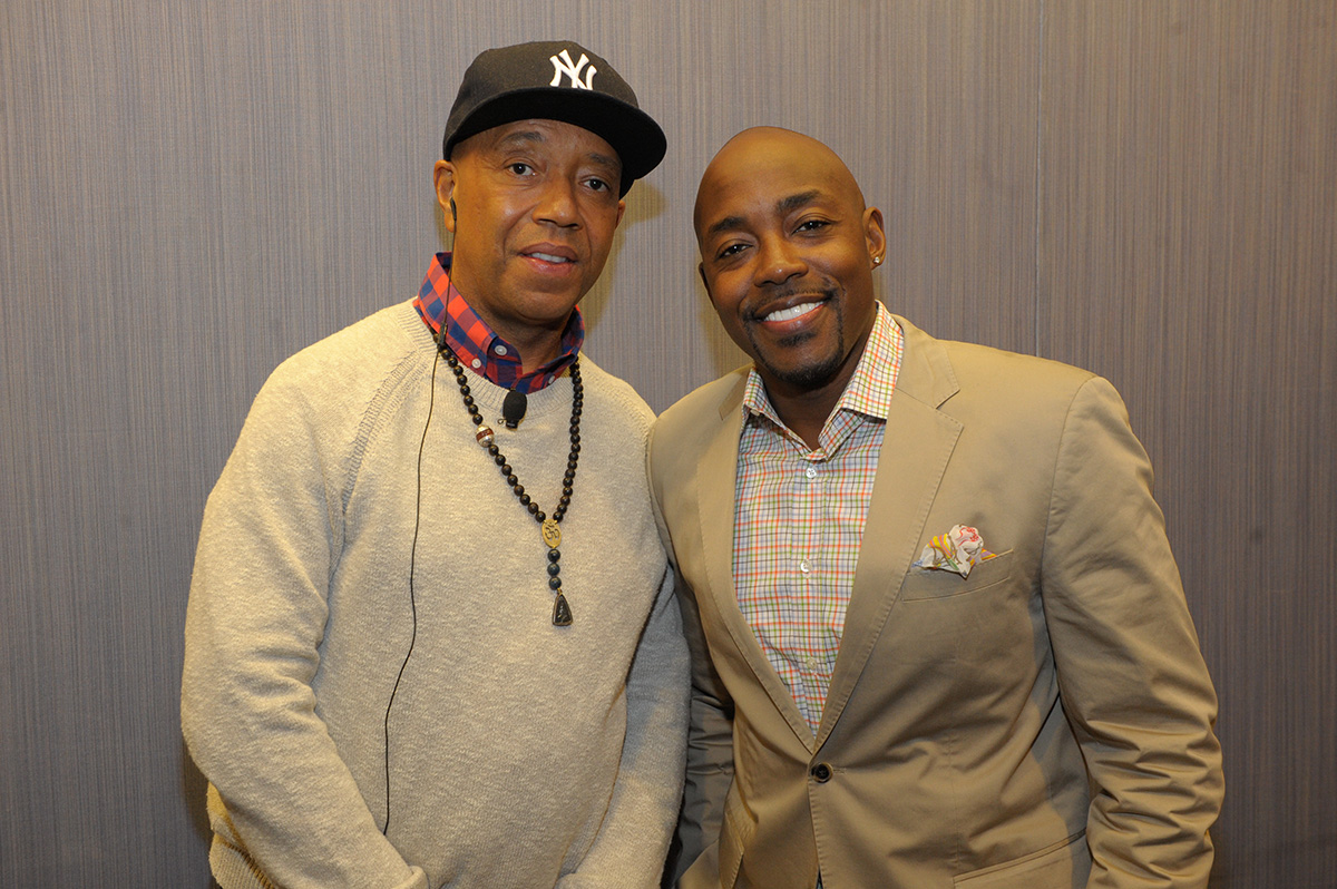 Russell Simmons and Will Packer DP2